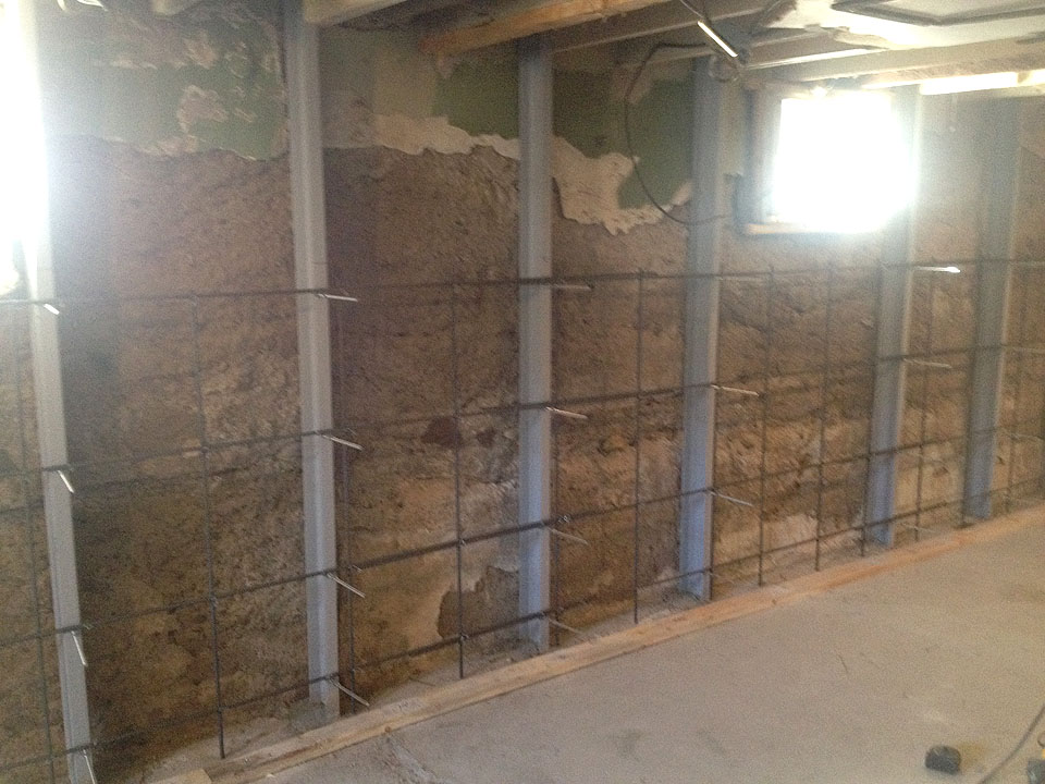 Basement Bracing